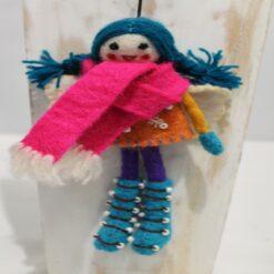 Felt Fairy - 18 x 11cm