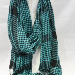 Scarf - Winter Wrap - Turquoise