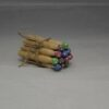 Handmade by Nicky - Set of 12 Painted Colourful Wooden Washing Pegs
